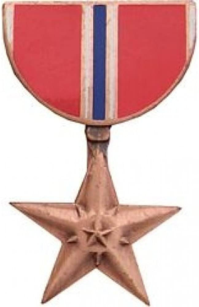 Bronze Star Limited time cheap sale Medal Popular standard Lapel Hat or Pin