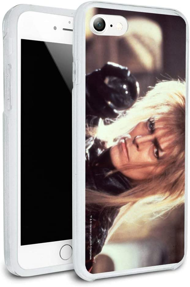 Labyrinth Goblin King Crystal Ball David Bowie Jareth Protective Slim Fit Hybrid Rubber Bumper Case for Apple iPhone 7 and 7 Plus