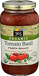365 Everyday Value, Organic Tomato Basil Pasta Sauce, 25 oz