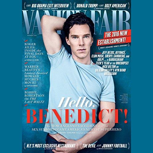 Vanity Fair: November 2016 Issue cover art
