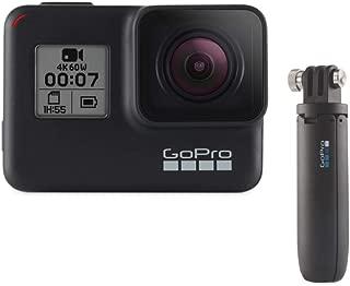 GoPro Shorty (Mini Extension Pole + Tripod) DVC Accessories,Black