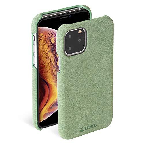 """Krusell Hülle geeignet für Apple iPhone 11 Pro Max 6.5"""" Leder - Broby - Grün Handyhülle Case Cover Ultra-dünn und leicht"""