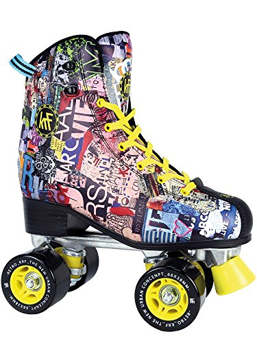 KRF The New Urban Concept Retro Art Patines Paralelo 4 Rueda