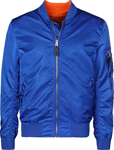 Alpha Industries MA-1 VF LW Reversible Giacca Bomber blue