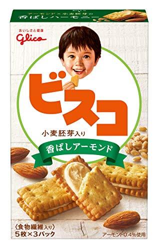 グリコ ビスコ 小麦胚芽り香ばしアーモンド 1セット(6個)