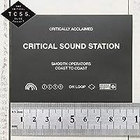 TCSS [ティーシーエスエス] STICKER ステッカー The Critical Slide Society ASTICK18 [並行輸入品]