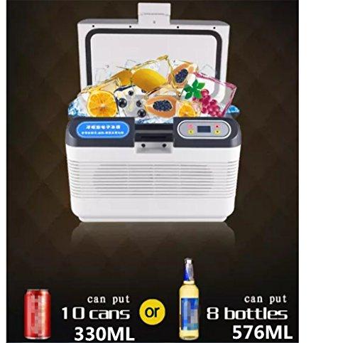 Preisvergleich Produktbild SHISHANG DC 12v Auto tragbaren Kühlschrank mit Gefrierfach Kühlschrank,  Hause und Auto Dual-Use (220V / 12V),  Lagerung und Konservierung