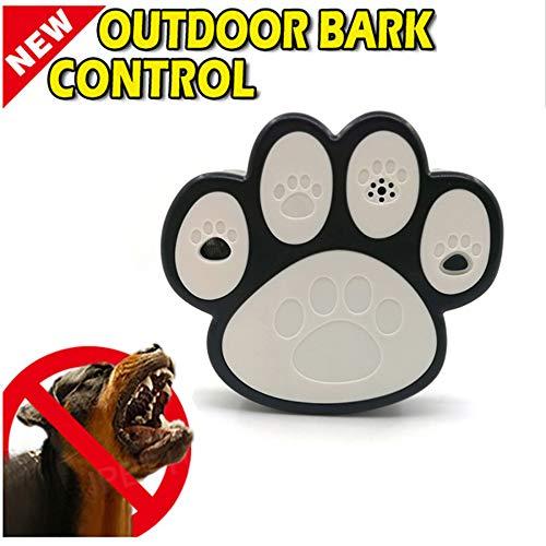 LEIPING Dispositivo Antiladridos Ultrasónico Automático Disuasorio de Corteza para Perro, Dispositivo de Control de ladrido Collar, 100% Seguro y Inofensivo para Perros