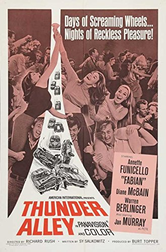 Poster del film Thunder Alley, 27,94 x 43,18 cm