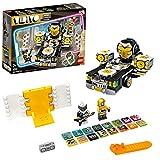 LEGO 43112 VIDIYO Robo Hiphop Car, Creador de Vídeos Musicales de Juguete, App Realidad Aumentada, Set con Mini Figuras