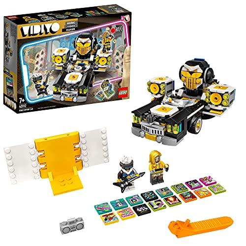 LEGO 43112 VIDIYO Robo Hiphop Car Beatbox Music Video Maker, Musik Spielzeug Set für Kinder mit AR App