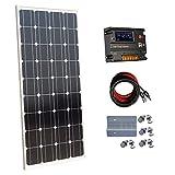 Ecoworthy monocristallin 60W 100 W 12 V Panneaux solaires kit + 20 A contrôleur de...