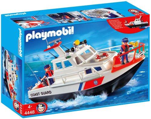 PLAYMOBIL 626098 - Puerto Bote Guardacostas