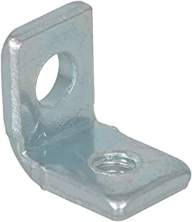 Keystone 612 Mounting Bracket, Threaded Hole Right Angle (L) Universal, Steel (Pack of 20)