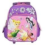 Disney Tinkerbell Flowers Purple 12' Small Backpack Girls - Tinker Bell Fairies