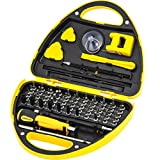Precision Electronic Screwdriver Set R'deer 67 in 1 Magnetic Multifunctional Driver Repair Kit with Magnetizer Tweezers Triangle Plectrum Sucker Crowbar for iPhone MAC PC Xbox PS4 Watch Glasses