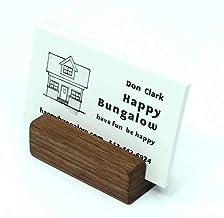 Natural Walnut Business Card Holder