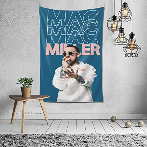 Mac M-iller Tapestry Wall Hanging Home Decorations for Living Room Bedroom Dorm Decor in 60x40 Inches