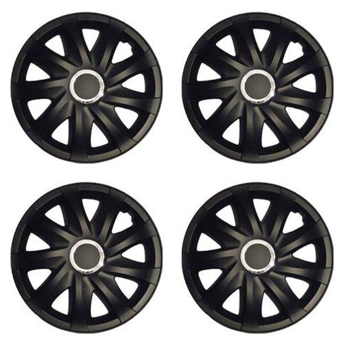 Radkappen DRF schwarz matt 14 Zoll passend für Nissan Primera, Sunny, Kubistar, NV200