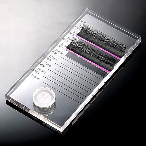 Nouveau 2 en 1 acrylique Faux Cils stand Pad Holder Lashes avec palettes Tick Mark faux cils Extension outil essentiel
