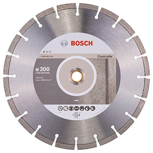 Bosch Professional Diamanttrennscheibe (für Beton, Ø: 300 mm, BohrungØ: 20 mm, Zubehör für Benzinsägen und Tischsägen)