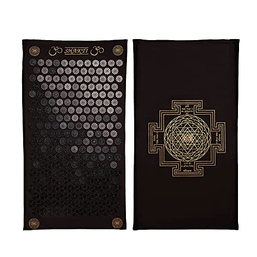 The Shakti Mat, Trust The Experts with Ethically Handmade Acupressure Mats from India, Acupuncture Without The Hassle, Deep Relaxation in 20 Minutes