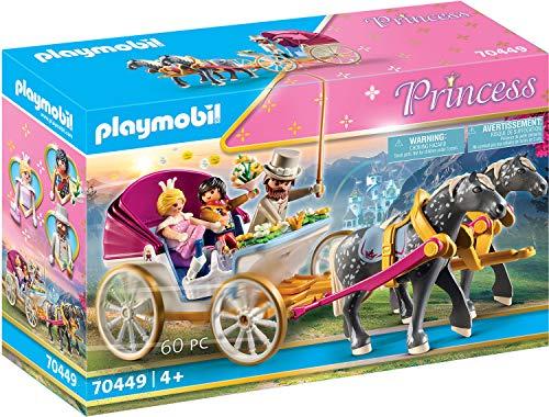 PLAYMOBIL Princess 70449 - Carrozza romantica, Dai 4 anni