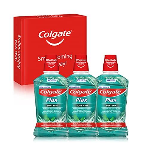 Colgate Plax Multiprotección, Enjuague...