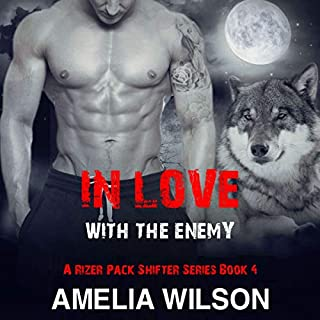 In Love with the Enemy audiobook cover art