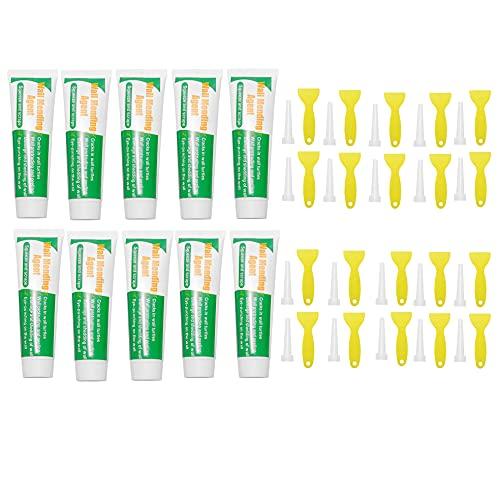 Crema reparadora de pared para reparación de paredes, producto de reparación para paredes dañadas, color blanco látex (10 unidades)