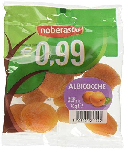 Noberasco 0,99 Albicocche Denocciolate - confezione da 12X70g