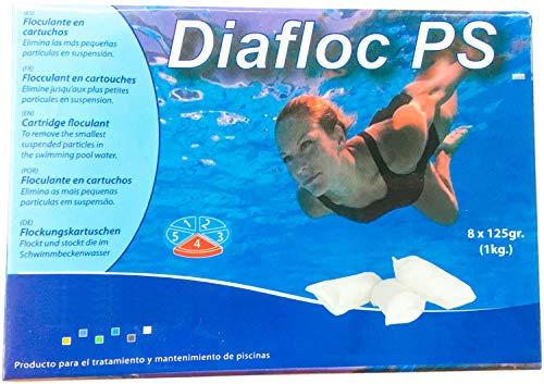 Globasid 4 x 1 kg Flockkartuschen Pool (32 x 125g)