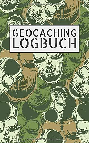 Geocaching Logbuch: Notizbuch und Logbuch für Geocacher - Geocaching Zubehör und Ausrüstung Nano - Kleines Geocach Buch als Versteck für Flasche oder Dose - Einzelne Seiten ausschneidbar