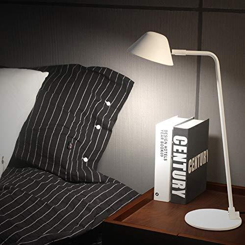 Lámpara de escritorio LED Lámpara de mesa de atenuación simple, lámpara de mesa de protección de los ojos LED for sala de estudio de moda creativa, lámpara de mesa de lectura de aprendizaje, sin estro