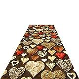 SXXYXH Alfombra de Pasillo, alfombras de Corredor largas Lavables duraderas Antideslizantes Art Deco utilizadas en la Sala de Estar Dormitorio Pasillo Cocina Alfombra de Piso,1X1.5M/3.28X4.92ft