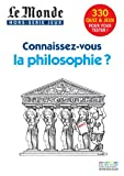 Le Monde, Hors-série jeux - Connaissez-vous la philosophie ?