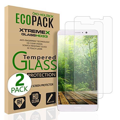 Beste4Handys Für Huawei Mate 9 (2 Stück) Panzerglas Bildschirmschutzfolie, 9 Festigkeit, Aniti-Kratzen, Anti-Öl, Anti- Bläschen, 3D Touch Kompatibel