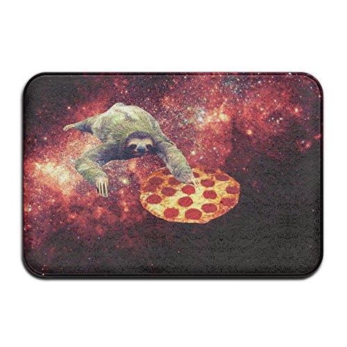 Paresseux à Pizza Star Galaxy Tapis de Porte extérieure 4060 cm