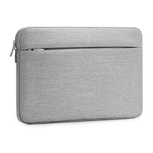 Laptop Sleeve 15.6 Inch, AtailorBird Notebook Protective Bag Carrying Case Water-Repellent with Accessory Pocket for Ultrabook Tablet Cover Case, Grey