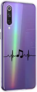 Suhctup Compatible con Xiaomi Poco-F1 Funda Silicona Transparente con Dibujos Lindo Cárcasa Ultrafina Suave Gel TPU con An...