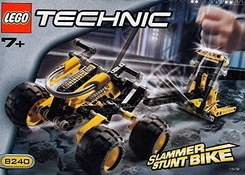 Lego Technic Slammer Stunt Bike 8240 by LEGO