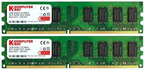 Komputerbay - Módulo de memoria DIMM (240 PIN) para PC, 4GB