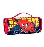 Seven Astuccio Scuola Rotolo portacolori Marvel - Ultimate Spider-Man - con pennarelli matite ECC. Uomo Ragno Spiderman