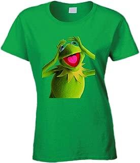 Ladies Kermit The Frog T Shirt M Irish Green
