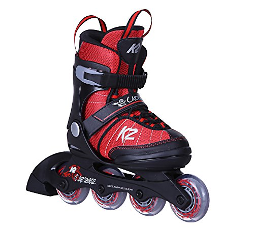 K2 Cadence JR Boy Kinder Inline-Skates 30C0340 Red/Black Gr. S (29-34)