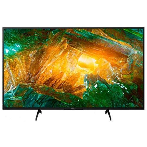 "Televisor Sony KD-49XH8077 - Televisor 4K HDR de 49"" (UHD 4K 3840 x 2160, Smart TV, X-Reality Pro 4K, Dolby Atmos, 4X HDMI, A) Plata"