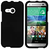 TurtleArmor   Compatible with HTC One M8 Mini Case   One Mini 2 Case   One Remix Case [Slim Duo] Slim Snap On Fit 2 Piece Hard Cover Protector on Black - Black