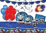 Irpot Kit n 68 Addobbi Festa Compleanno Personaggio a Scelta (Trenino Thomas)