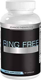 Ring Free Tinnitus Relief Supplement. End Tinnitus Naturally and Ear Ringing. 60 Capsules of The Most Powerful Tinnitus Supplements on The Market. 60 Capsules per Anti Tinnitus Bottle. Stop Tinnitus