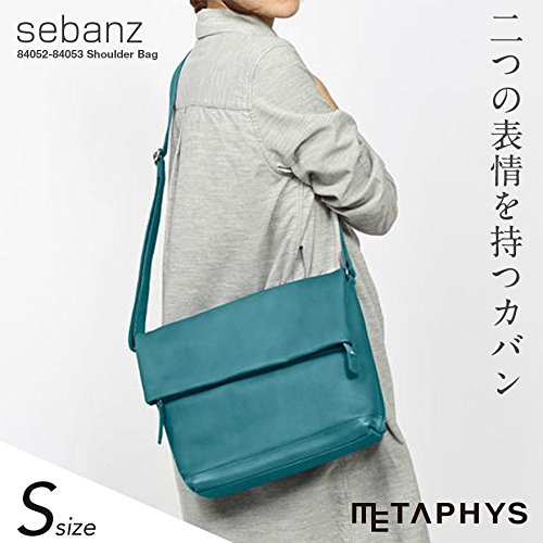 【METAPHYS│メタフィス】sebanz/セバンズ 口折れショルダーバッグS 84053 約660g (イエロー)